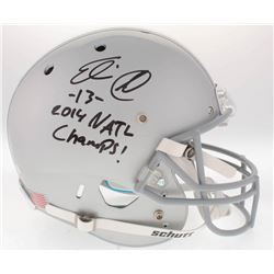 "Eli Apple Signed Ohio State Buckeyes Full-Size Helmet Inscribed ""2014 NATL Champs!"" (Radtke COA)"