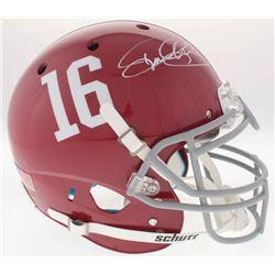 Derrick Henry Signed Alabama Crimson Tide Full-Size On-Field Helmet (Radtke COA)