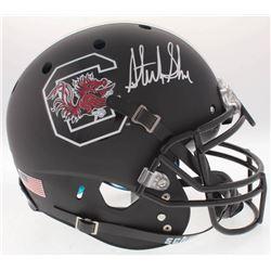 Sterling Sharpe Signed South Carolina Gamecocks Full-Size On-Field Helmet (Radtke COA)