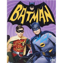 "Adam West  Burt Ward Signed ""Batman"" 11x14 Photo (Beckett COA)"
