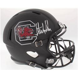 Sterling Sharpe Signed South Carolina Gamecocks Full-Size Speed Helmet (Radtke COA)