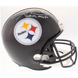 "Hines Ward Signed Steelers Full-Size Helmet Inscribed ""SBXLMVP"" (JSA COA)"