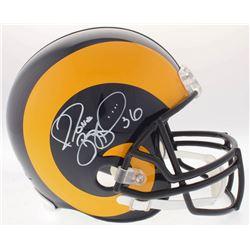 Jerome Bettis Signed Rams Full-Size Throwback Helmet (Radtke COA)