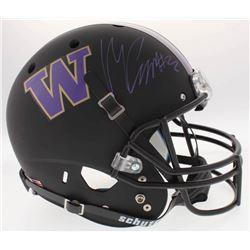 Marcus Peters Signed Washington Huskies Full-Size Helmet (Radtke COA)