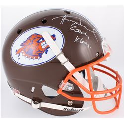 "Henry Winkler Signed ""The Waterboy"" South Central Louisiana State University Mud Dogs Full-Size Helm"
