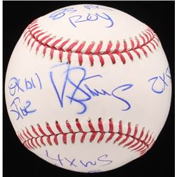 "Darryl Strawberry Signed OML Baseball Inscribed ""8x All-Star"", ""83 NL ROY"", ""2x SS""  ""4x WS Champs"""