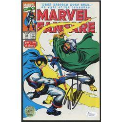 """Stan Lee Signed 1990 """"Marvel Fanfare"""" Vol. 1 Issue #53 Marvel Comic Book (JSA COA  Lee Hologram)"""