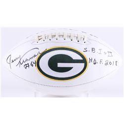 "Jerry Kramer Signed Packers Logo Football Inscribed ""S.B. I + II""  ""H.O.F. 2018"" (Radtke COA)"
