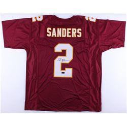 Deion Sanders Signed Florida State Seminoles Jersey (Radtke COA)