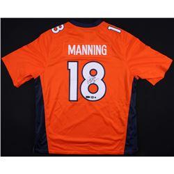 Peyton Manning Signed Broncos Jersey (Steiner COA, Radtke Hologram  Fanatics Hologram)
