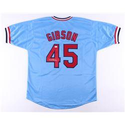 Bob Gibson Signed Cardinals Jersey (JSA COA)