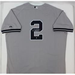 Derek Jeter Signed Yankees Jersey (Steiner COA)