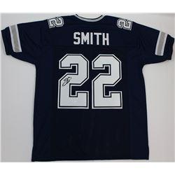 Emmitt Smith Signed Cowboys Jersey (JSA COA)