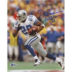 Darren Woodson Signed Cowboys 8x10 Photo (Beckett COA)