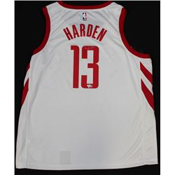 James Harden Signed Rockets Jersey (Fanatics Hologram)