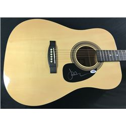 Jason Mraz Signed Full-Size Rogue Dreadnought Acoustic Guitar (PSA COA)