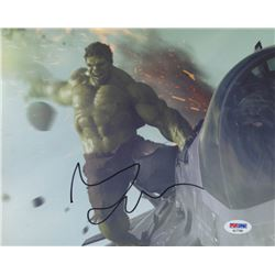 Mark Ruffalo Signed  The Hulk  8x10 Photo (PSA COA)