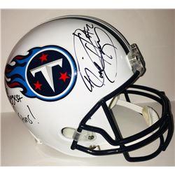 "Derrick Henry Signed Titans Full-Size Helmet Inscribed ""To My Biggest Fan Go Titans!"" (JSA COA)"