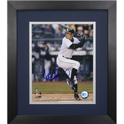 Ichiro Suzuki Signed Mariners 13.75x15.5 Custom Framed Photo Display (Suzuki COA)