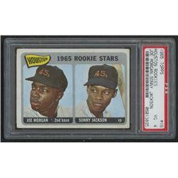 1965 Topps #16 Rookie Stars Joe Morgan RC / Sonny Jackson RC (PSA 4)