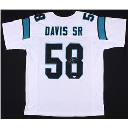 Thomas Davis Signed Panthers Jersey (JSA COA)