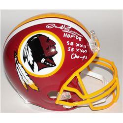 """Darrell Green Signed Redskins Full-Size Helmet Inscribed """"HOF-08"""", """"SB XXII""""  """"SB XXVI Champs"""" (JSA"""