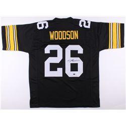 Rod Woodson Signed Steelers Jersey (Schwartz COA)