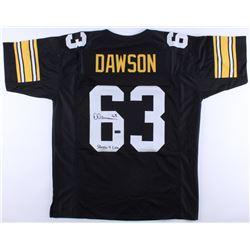 "Dermontii Dawson Signed Steelers Jersey Inscribed ""Steeler 4 Life"" (Radtke COA)"