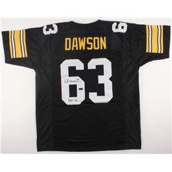 "Dermontti Dawson Signed Steelers Jersey Inscribed ""HOF 12"" (Radtke COA)"