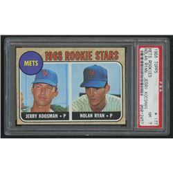 1968 Topps #177 Rookie Stars Jerry Koosman RC / Nolan Ryan RC (PSA 7)
