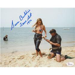 "Susan Backlinie Signed ""Jaws"" 8x10 Photo Inscribed ""Jaws Set 1974"" (JSA COA)"