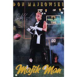 "Don Majkowski Signed Packers ""Majik Man"" 20x30 Poster (Gridiron Legends COA)"