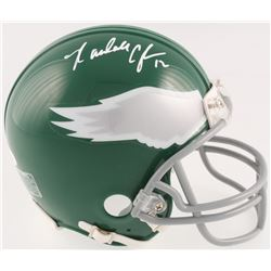 Randall Cunningham Signed Eagles Mini Helmet (JSA COA)