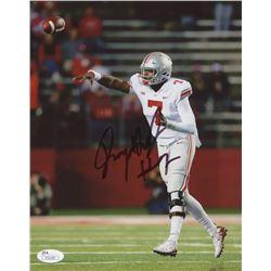 Dwayne Haskins Signed Ohio State Buckeyes 8x10 Photo (JSA COA)