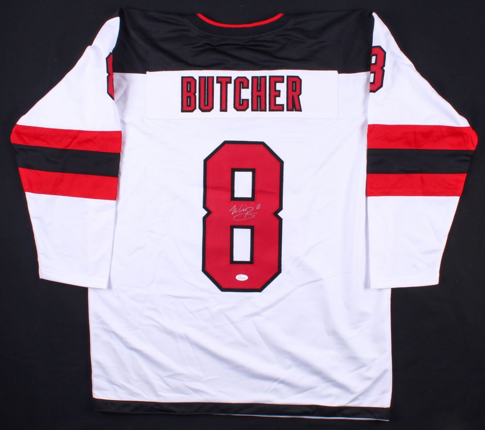 competitive price 288d3 be4cf Will Butcher Signed Devils Jersey (JSA COA)