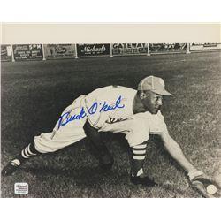 Buck O'Neil Signed Monarchs 8x10 Photo (Autograph Reference COA)