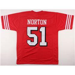 Ken Norton Jr. Signed 49ers Jersey (Beckett COA)