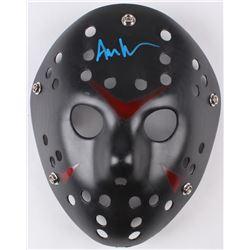 """Ari Lehman Signed Jason """"Friday the 13th"""" Hockey Mask (JSA COA)"""