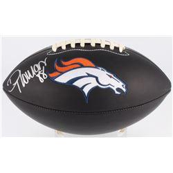 Demaryius Thomas Signed Broncos Logo Football (Beckett COA)