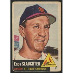 1953 Topps #41 Enos Slaughter