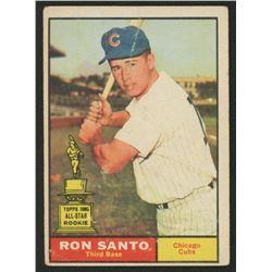 1961 Topps #35 Ron Santo RC