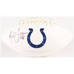Marshall Faulk Signed Colts Logo Football (Radtke Hologram)