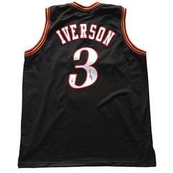 "Allen Iverson Signed 76ers ""The Answer"" Jersey (Beckett COA)"