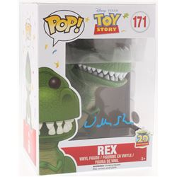 """Wallace Shawn Signed """"Toy Story"""" Rex #171 Funko Pop! Vinyl Figure (JSA COA)"""