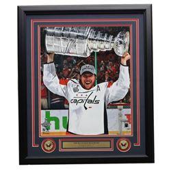 Nicklas Backstrom Signed Capitals 2018 Stanley Cup 22x27 Custom Framed Photo (Fanatics)