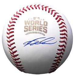 Kyle Schwarber Signed 2016 World Series Logo Baseball (Beckett COA)