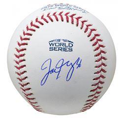 Joe Kelly Signed 2018 World Series Logo Baseball (JSA COA)
