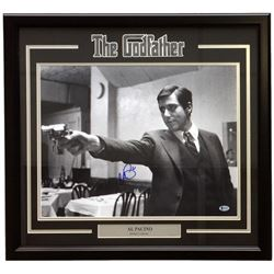 "Al Pacino Signed ""The Godfather"" 22x27 Custom Framed Photo Display (Beckett COA)"