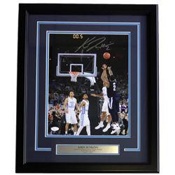 Kris Jenkins Signed Villanova Wildcats 16x20 Custom Framed Photo Display (JSA COA)