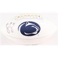 Sean Lee Signed Penn State Nittany Lions Logo Football (Radtke COA)